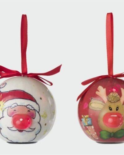 Bola de Navidad con luces LED