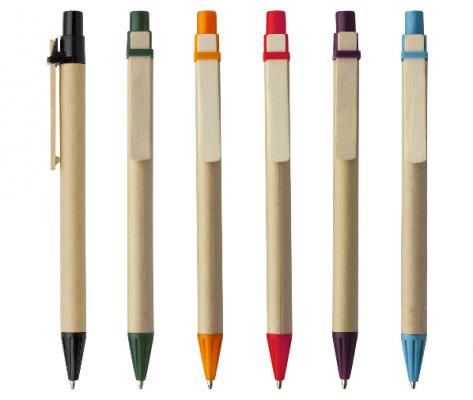 Bolígrafo Ecológico de Cartón en varios colores