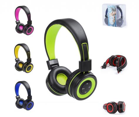 Cascos Bluetooth varios colores