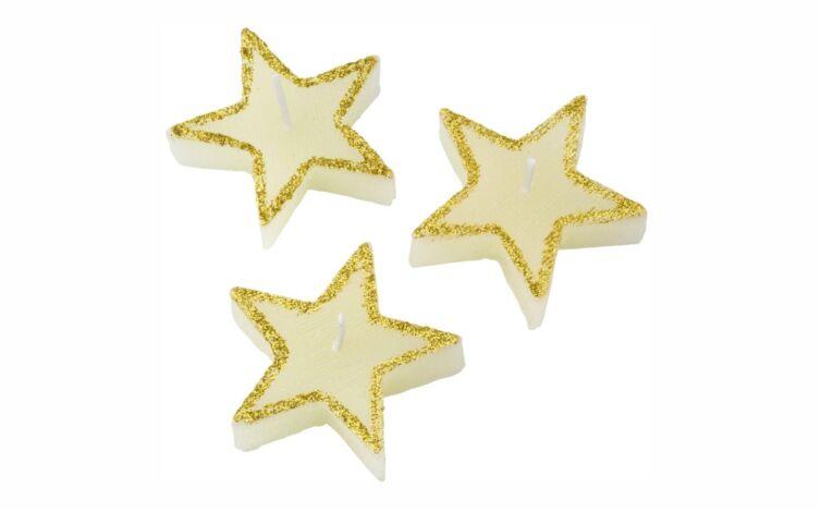 Velas con forma de estrella