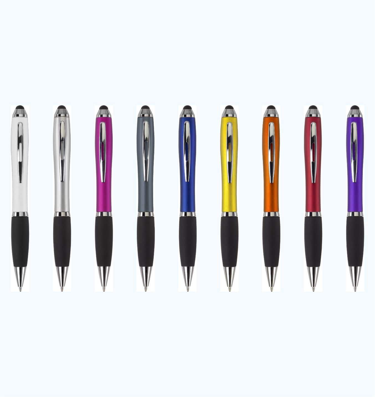 Bolígrafo Publicitario Touch Colores Frente