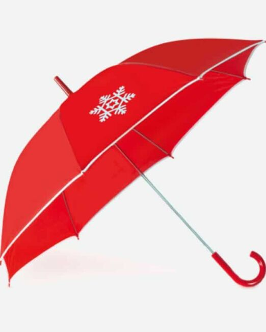 Paraguas Navideño Personalizable. Regalos de Empresa