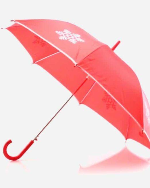 Paraguas Navidad Roja Regalos Promocionales. Marketing Directo. Regalo de Empresa. Promociones para Ferias y Eventos