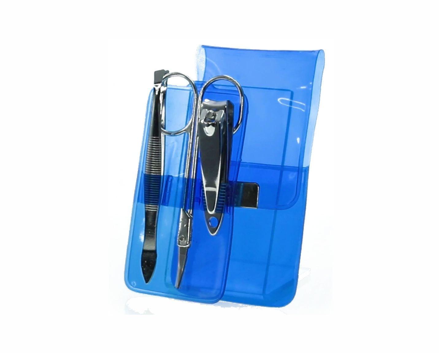 Set Manicura con 3 accesorios. Azul Regalos Promocionales. Marketing Directo. Regalo de Empresa. Promociones para Ferias y Eventos