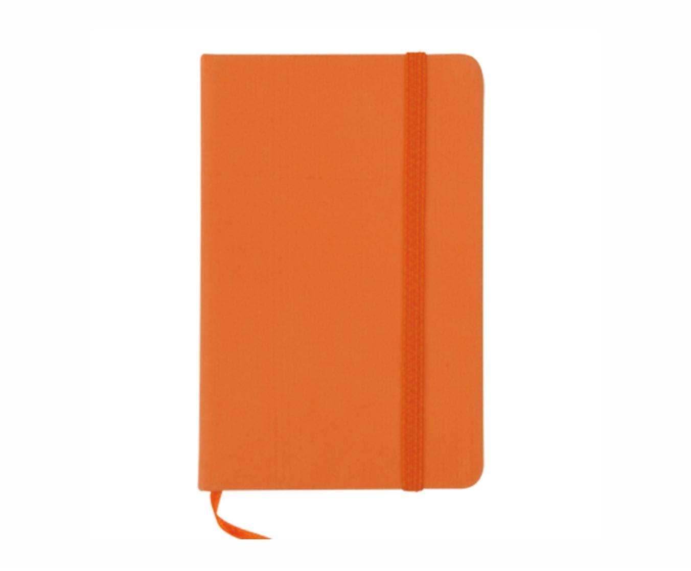 Libreta -Pequeña-Personalizable-Naranja