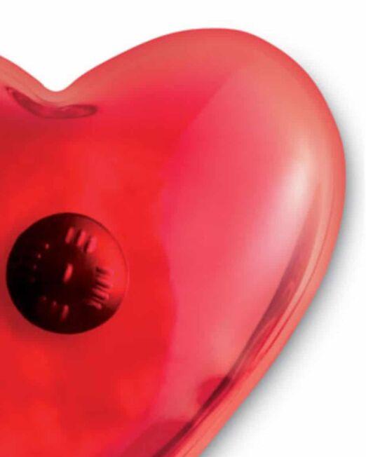 Calienta manos con forma de Corazón. Regalo de Empresa. Promociones para Ferias y Eventos