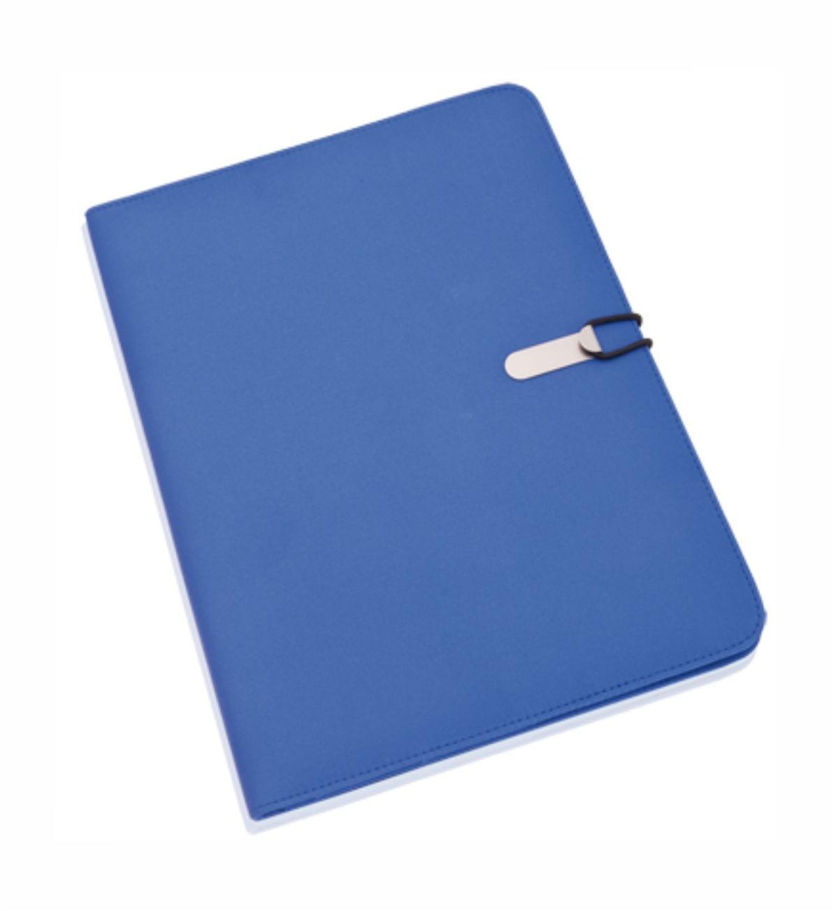 Carpeta Congresos Azul. Merchandising Empresarial