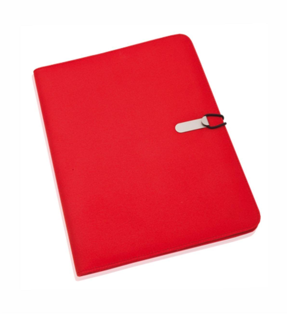 Carpeta Congresos Roja. Merchandising Empresarial