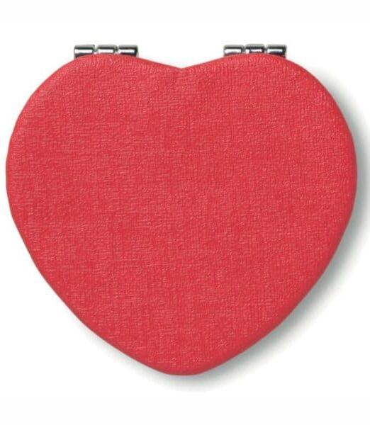 Espejo Corazón. Regalos Promocionales. Marketing Directo. Regalo de Empresa. Promociones para Ferias y Eventos