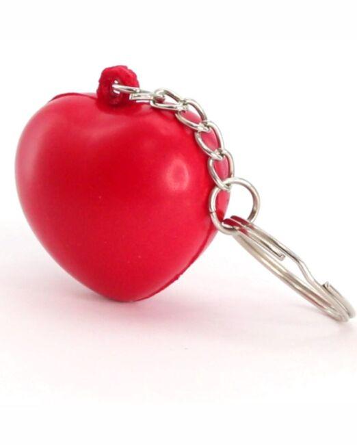 Llavero Publicitario Antiestrés Corazón