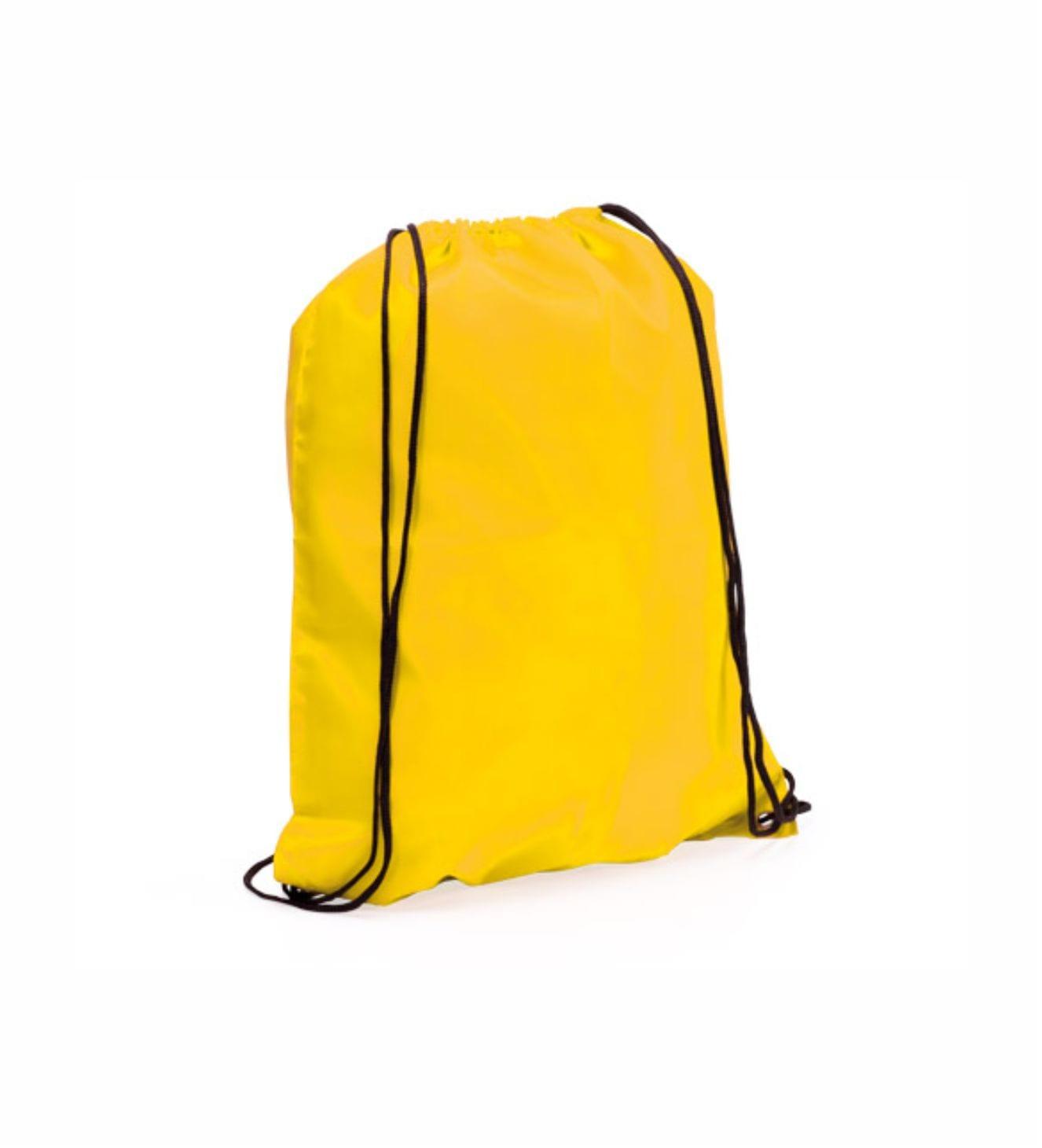 Mochilas Promocionales Amarillo. Regalos de Empresa Amarilla