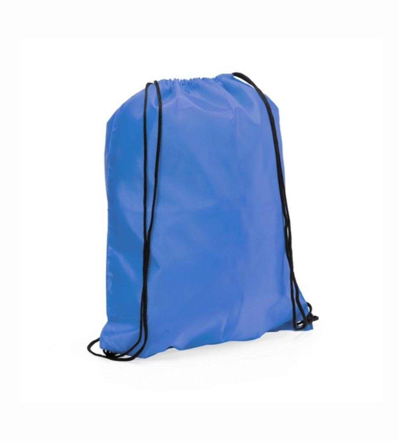 Mochilas Promocionales Azul Claro. Regalos de Empresa Azul