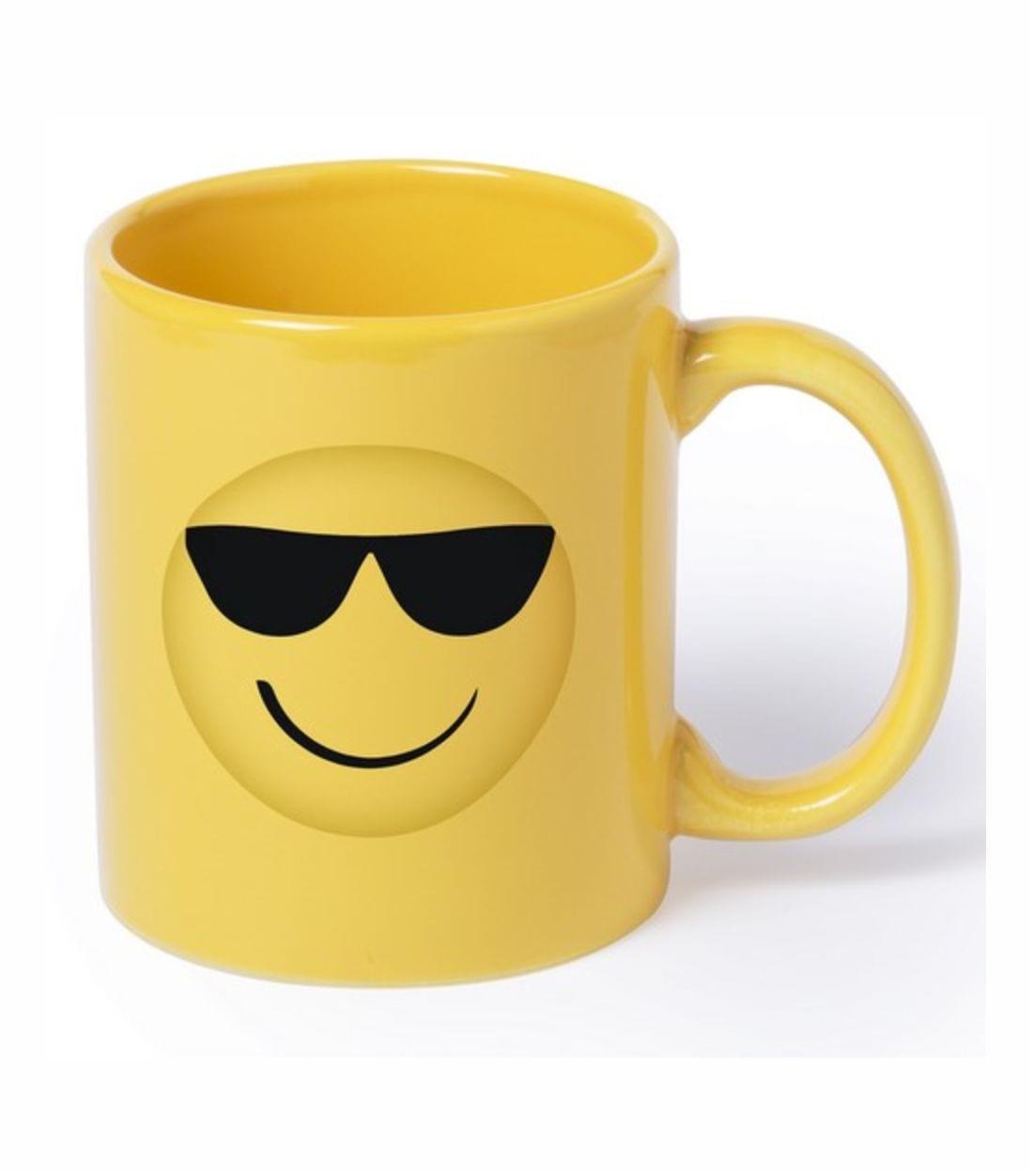 Mug Emoticono. Regalos Promocionales. Marketing Directo. Regalo de Empresa. Promociones para Ferias y Eventos