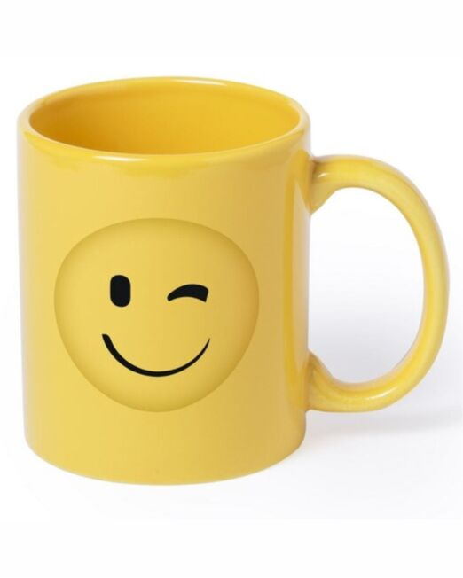Mug Emoticono. Regalos Promocionales. Marketing Directo. Regalo de Empresa. Promociones para Ferias y Eventos