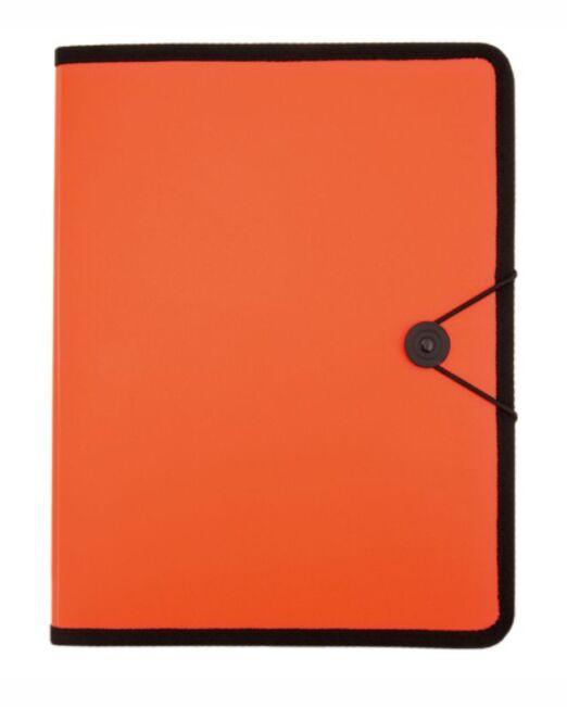 Carpeta promocional para publicidad Naranja