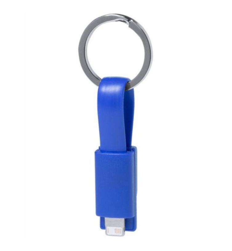 Cargador Llavero Micro USB y Lightning
