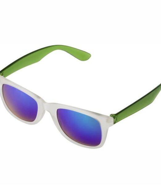 Gafas de sol, con protección UV-400, cristales de efecto espejo