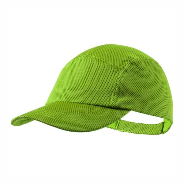 Gorra deportiva verde. Regalos de empresa