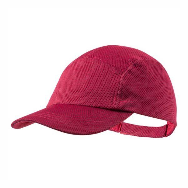 Gorra deportiva en material refrigerante SoftCool Extreme. Con protección UV50 y en variada gama de vivos colores. Cierre ajustable de velcro.