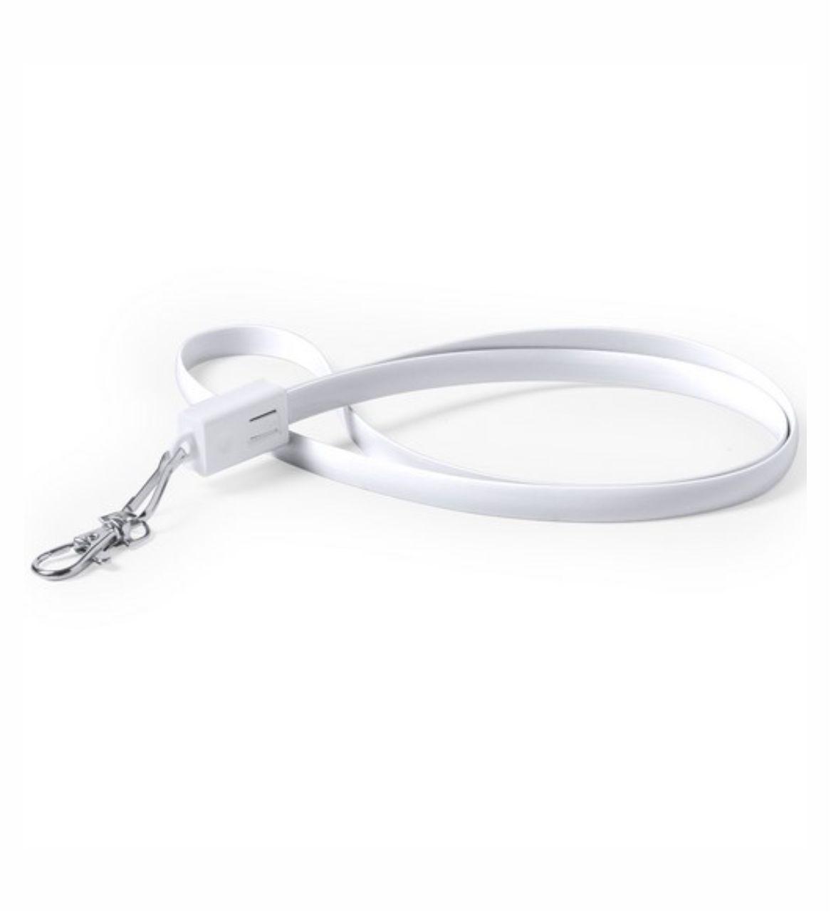Cable USB con Cierre Mosquetón