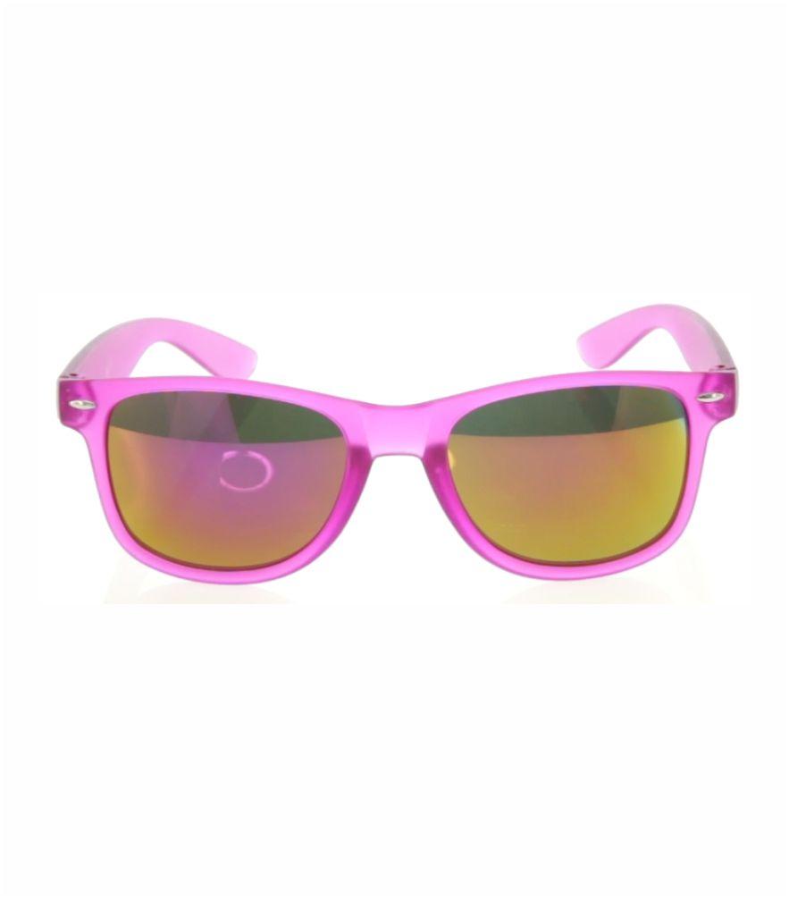 Gafas Espejo, Protección UV400 con un diseño de lineas clasicas. Montura translúcida en variados y llamativos colores y lentes de espejo a juego. Articulo Publicitario para evento promocional de Verano. Gafas de sol baratas, actuales y juveniles.
