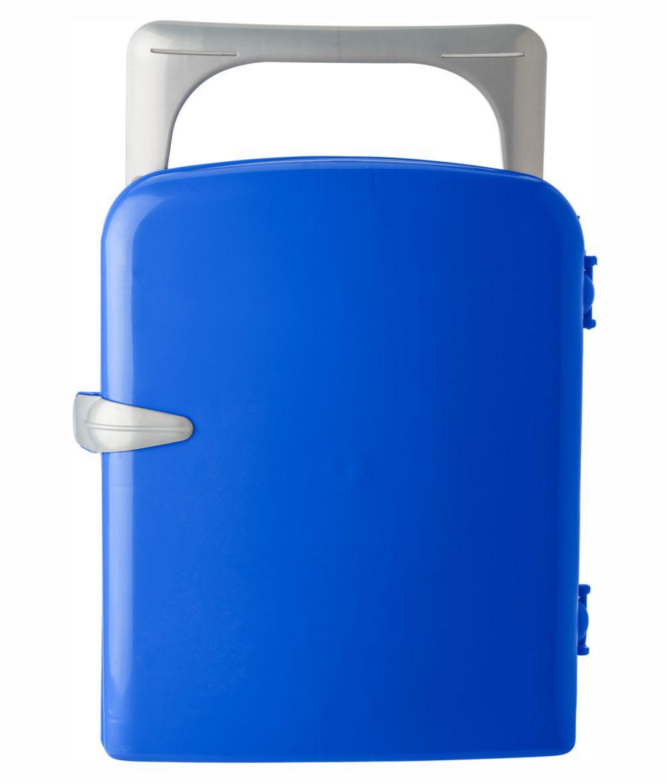 Nevera Verano portátil Azul. Publicidad