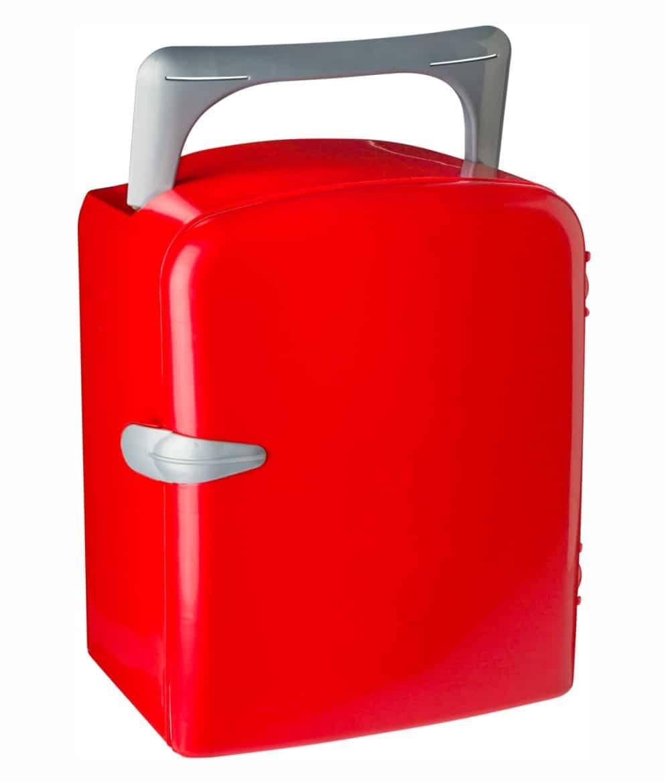 Nevera Verano portátil Roja. Publicidad