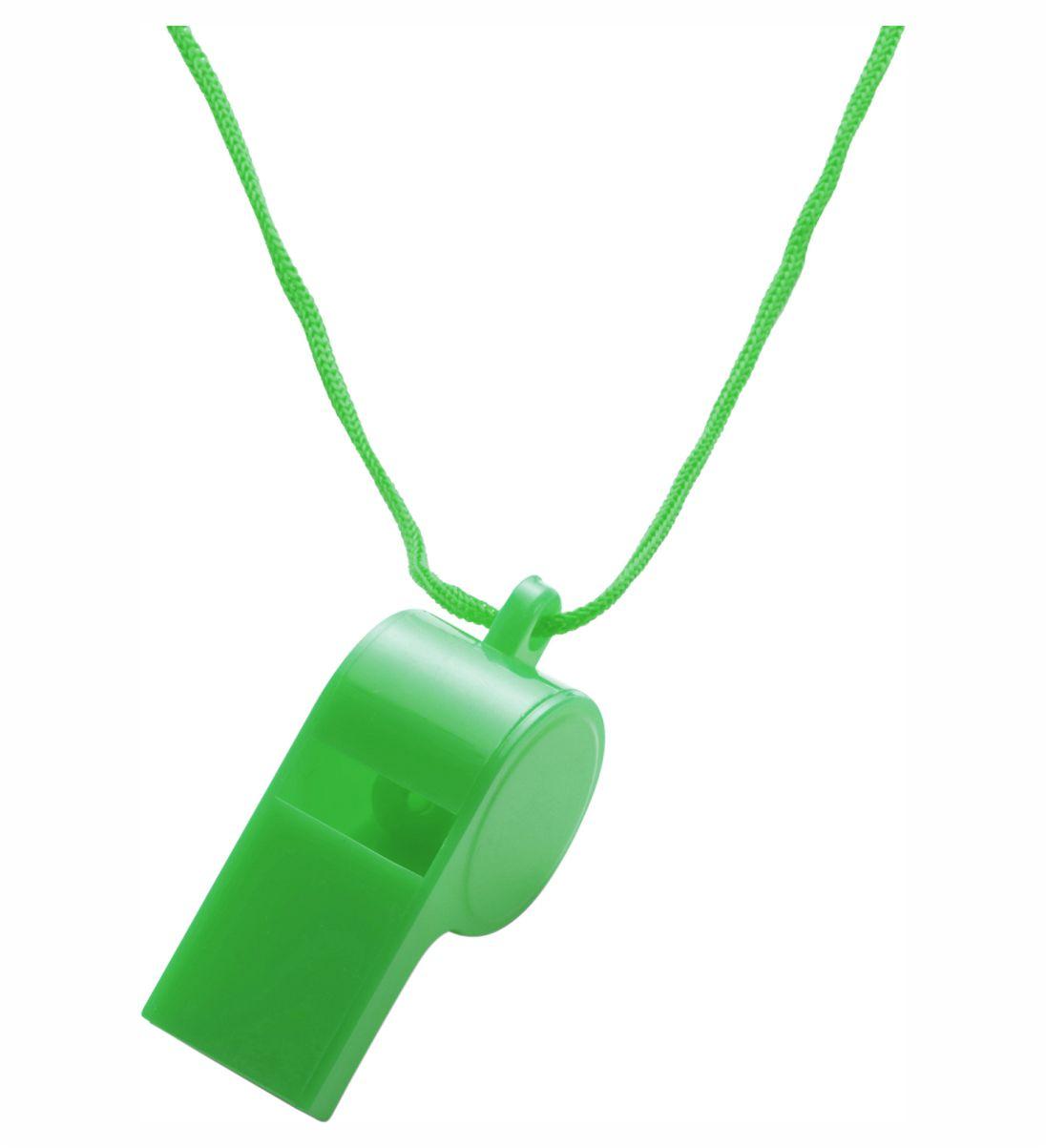 Silbato Cordón Verde. Regalo Publicitario