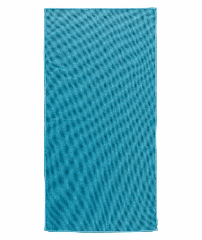 Toalla deporte Nilón Azul Publicitaria