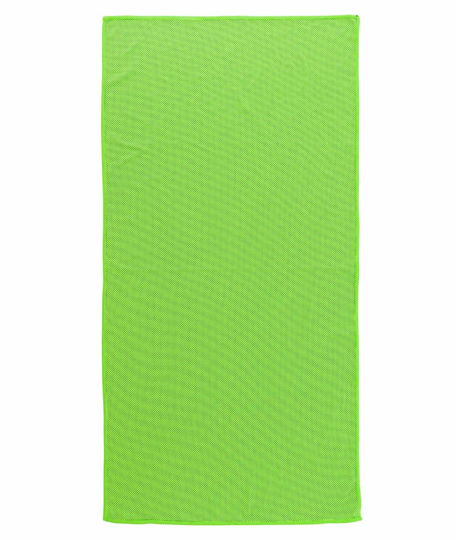 Toalla deporte Nilón Verde Publicitaria