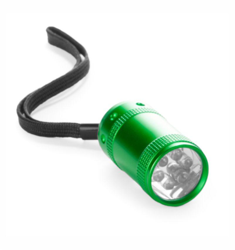 Linterna Pequeña Potente Verde. Regalo de Empresa