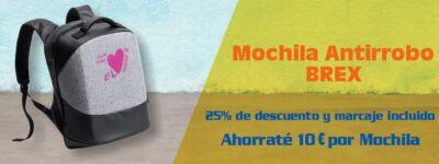 Oferta Mochila Antirrobo. Regalos de Empresa Baratos
