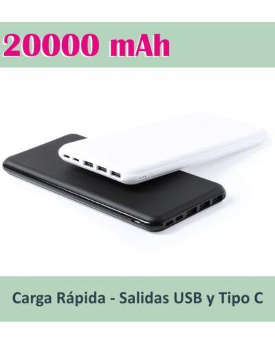 batería externa para móviles personalizada