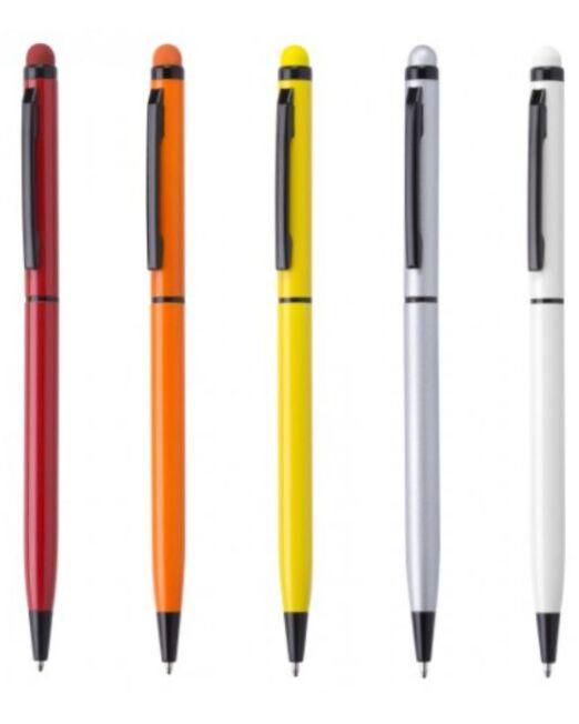 Bolígrafo en aluminio lacado Touch