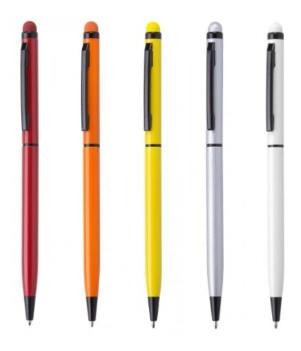 Bolígrafo Aluminio Touch Colores