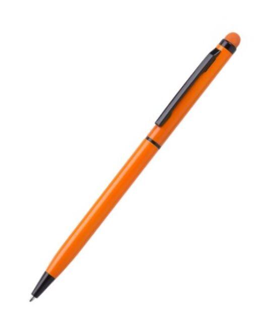 Bolígrafo Aluminio Touch Naranja