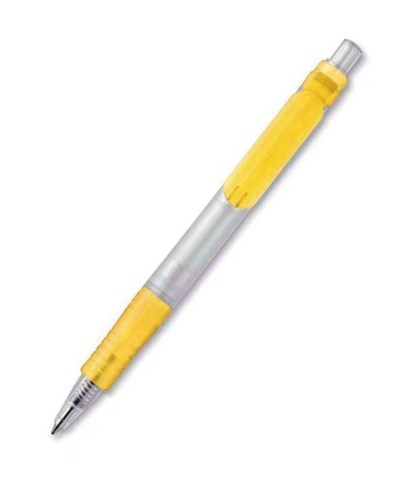 Bolígrafo Biodegradable Ecológico Amarillo. Regalos Promocionales