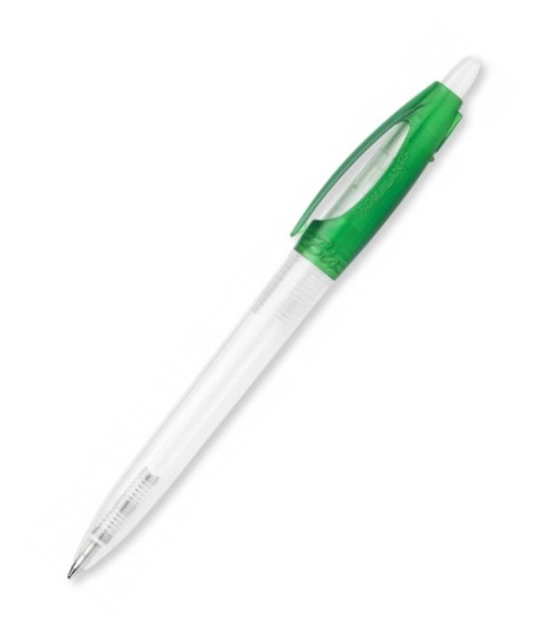 Bolígrafo verde Biodegradable Publicitario. Regalos para Empresa