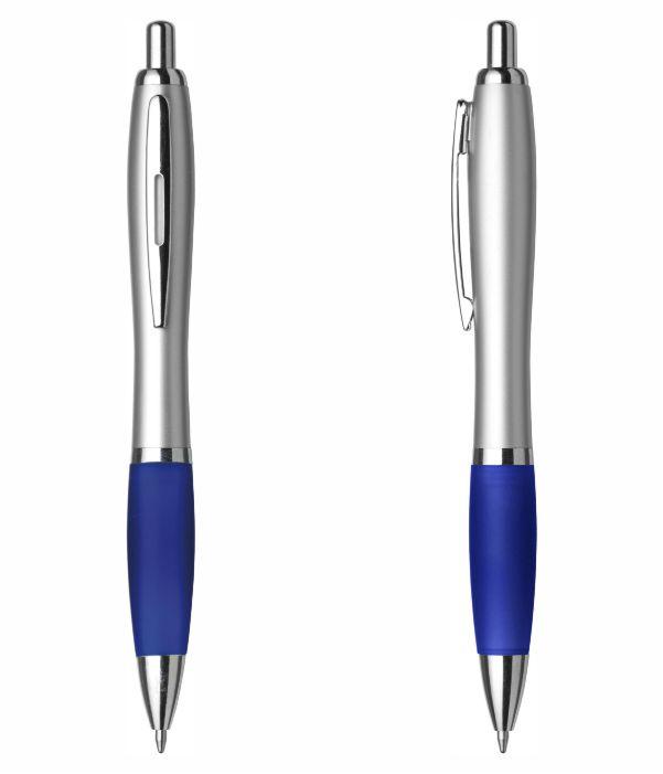 Bolígrafo Merchandising Plástico Personalizable Azul. Regalos Publicitarios