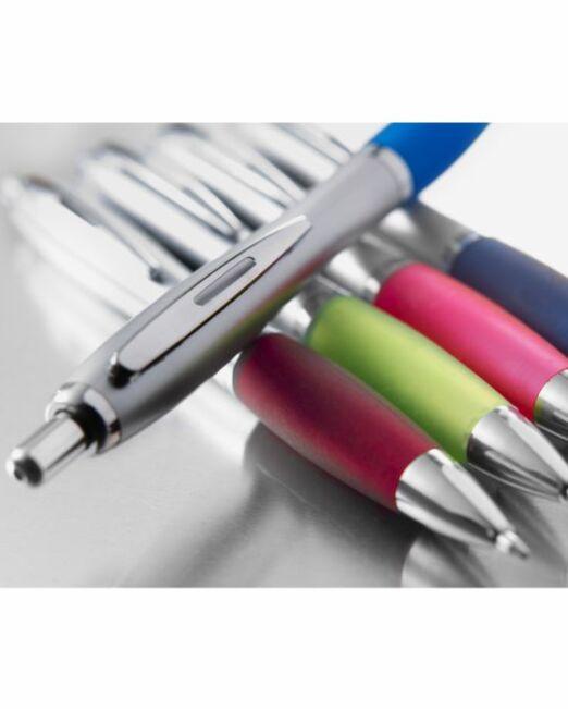 Bolígrafo Merchandising Plástico Personalizable. Detalles. Regalos Publicitarios