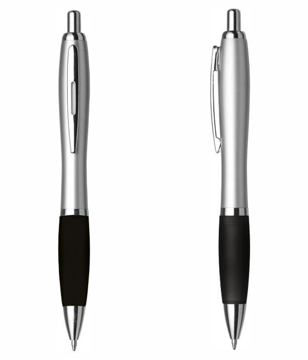 Bolígrafo Merchandising Plástico Personalizable. Negro. Regalos Publicitarios