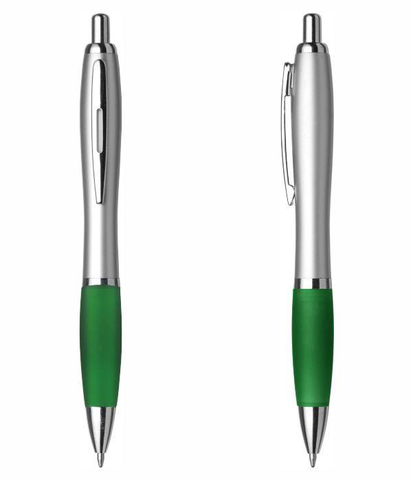 Bolígrafo Merchandising Plástico Personalizable. Verde. Regalos Publicitarios