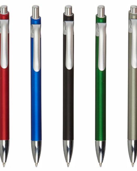 Bolígrafo Plástico Aspecto Metal Todos. Regalos Publicitarios