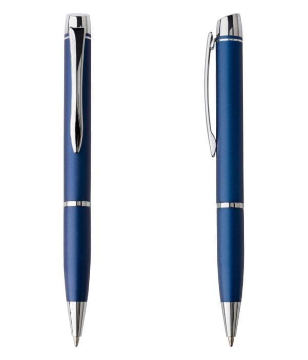 Bolígrafo Publicidad Metal Azul