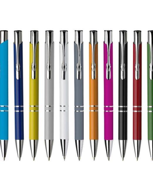 Bolígrafo Publicitario Metal en aluminio lacado