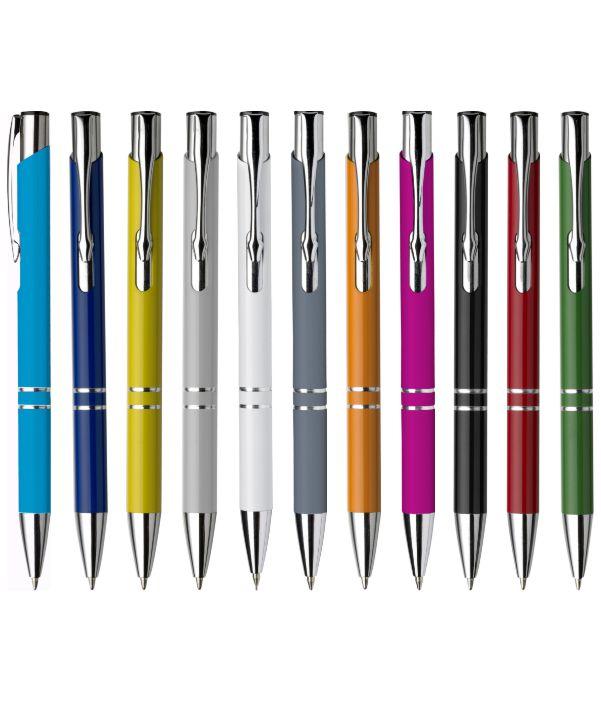 Bolígrafo Publicitario Metal. Colores