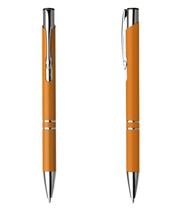 Bolígrafo Publicitario Metal. Naranja