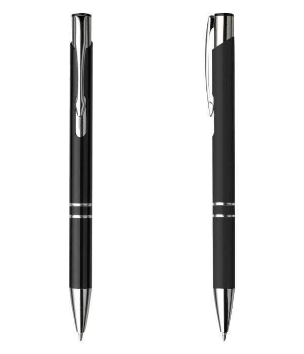 Bolígrafo Publicitario Metal. Negro