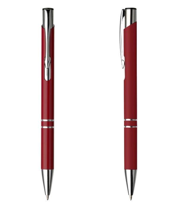 Bolígrafo Publicitario Metal. Rojo