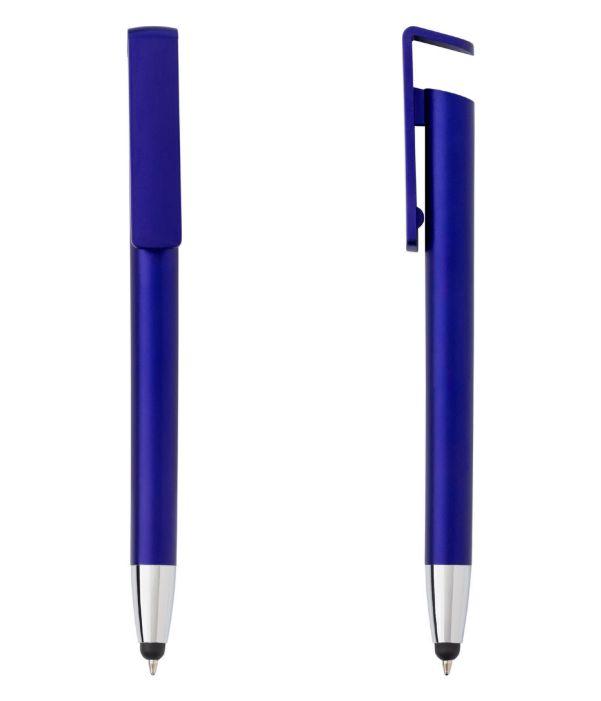Bolígrafo Touch Sujeta Móvil Azul. Propaganda